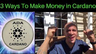 3 Ways to Make Money in Cardano ADA, & We Broke $0.10!!!