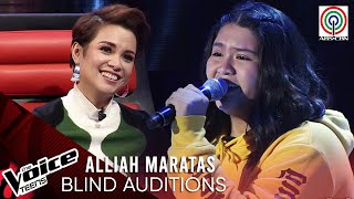 Alliah Maratas - Tagpuan   Blind Audition   The Voice Teens Philippines 2020