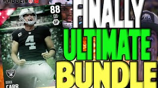 FINALLY!! ULTIMATE BUNDLE + FLASHBACK PACK | MADDEN 16 ULTIMATE TEAM PACK OPENING