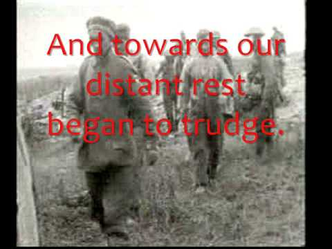 Dulce Et Decorum Est Footage From The Battle Of The Somme