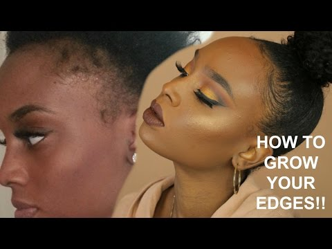 GROW YOUR EDGES BACK! | DESTINY LASHAE