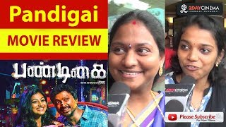 Pandigai Movie Review | Kreshna | Anandhi - 2DAYCINEMA.COM