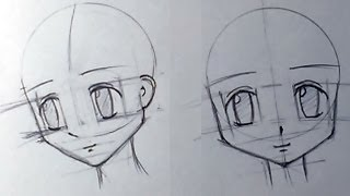 Как нарисовать аниме голову(Вопросы и ответы в группу: http://vk.com/club61619523., 2013-12-11T15:32:58.000Z)