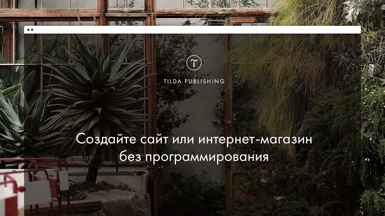 Tilda Publishing: видеогид по основным функциям