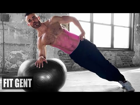 6 STABILITY BALL OBLIQUE EXERCISES