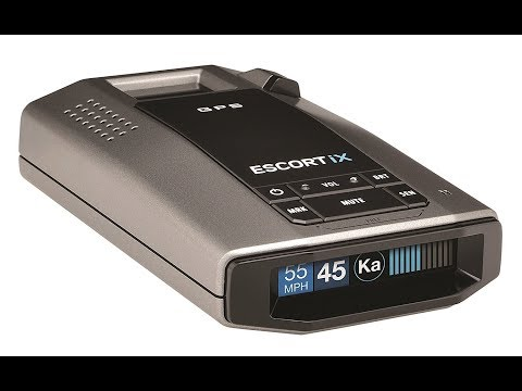 Escort iX Long Range Radar Laser Detector Black Customers Reviews   Best Radar Dector USA