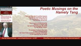 """Poetic Musings on tha Hamely Tang"" - Satire on Lord Laird and the Ulster Scots Agency"