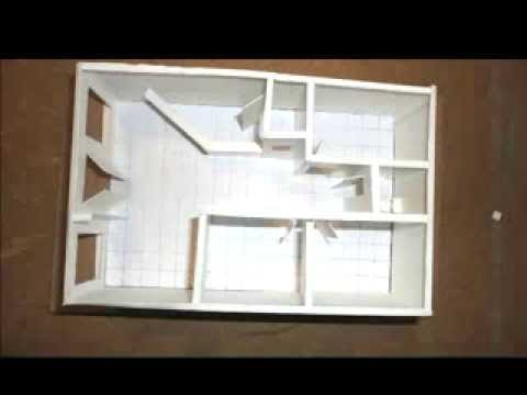 Oficina sala maquetas youtube for Como construir una oficina