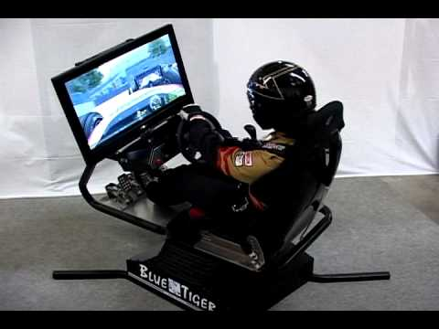 Bluetiger Video 1 Evolution Of Motion Simulators Youtube