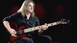 David Ellefson Signature Kelly Bird Bass