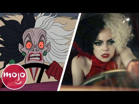 The Evolution of Cruella de Vil