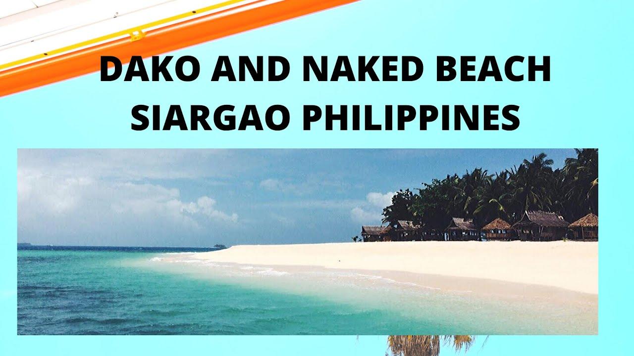 Naked Island, SIargao, Philippines, Island hopping - YouTube