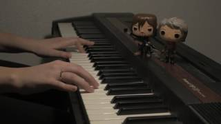 "The Walking Dead ""New Best Friends"" 07x10 - Everyone's Alright (piano cover)"
