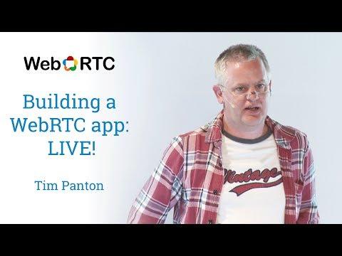 Building a WebRTC app - LIVE!