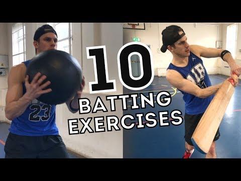 Fitness For Cricket: 10 Batting Training Exercises