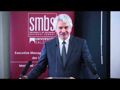 Eröffnungsfeier der SMBS in der Stadt Salzburg