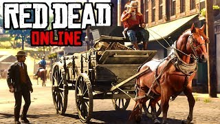 Long Distance MAXIMUM Trader Delivery! Tons Of Money! Red Dead Online Frontier Pursuits Update