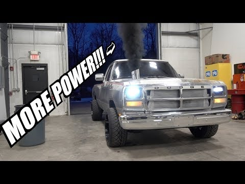 First Gen CUMMINS quest for more power!!! NEW TURBO!!!!