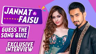 Jannat Zubair & Mr Faizu Fun Battle, Guess The Song Quiz, With A Twist |