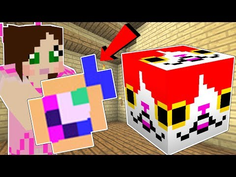 Minecraft: KITTY LUCKY BLOCK!!! (CUTE BLOCKS & WEIRD ITEMS!) Mod Showcase