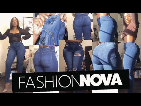 Fashion Nova Denim Jeans Haul 2020 | Size 7 | Thick Thighs Problem Solved