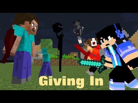 """♪ """" Giving In """" - (Heroes Series Minecraft Animation Music Video #7) - Season 1 ♪"""