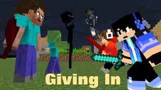 """Download ♪ """" Giving In """" - (Heroes Series Minecraft Animation Music Video #7) - Season 1 ♪ Mp3 and Videos"""