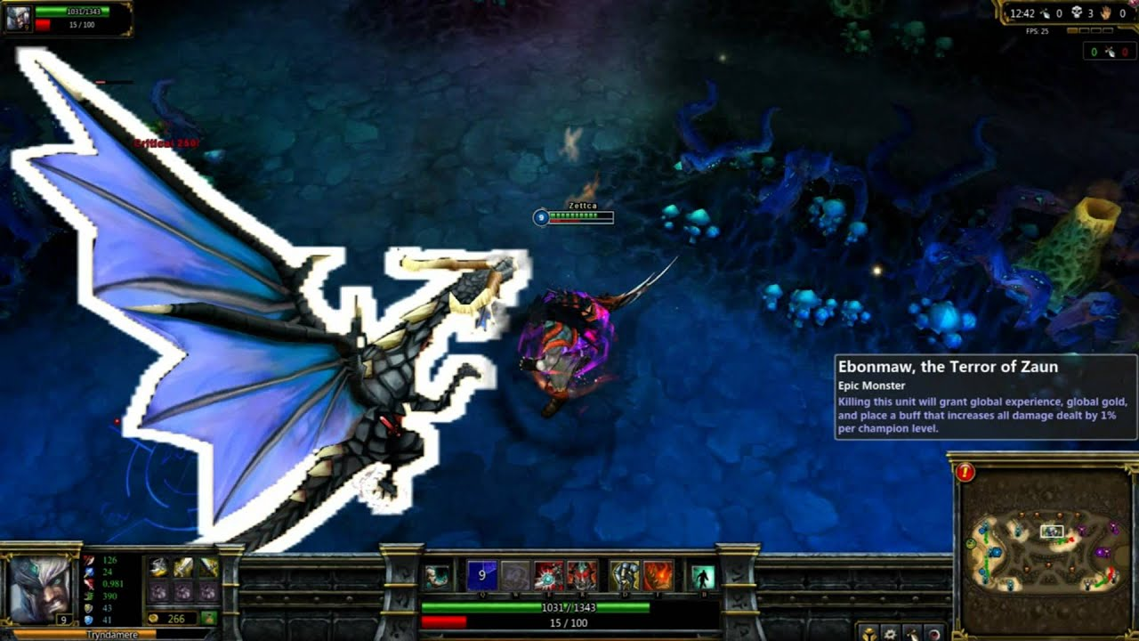 League of Legends: Demonblade Tryndamere Gameplay Preview