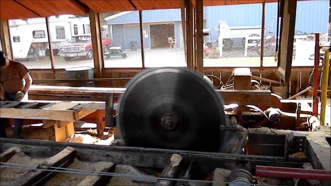 Steam Powered Saw Mill Jason Asselin Youtube
