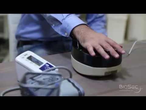 BioSec Palm Vein Scanning System for Soccer, Cashless payment, personal identification
