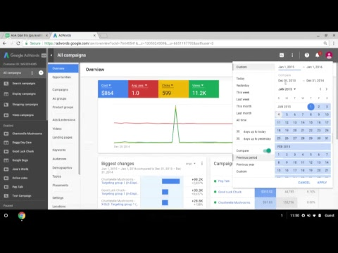 The new AdWords experience (Part 1)