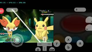 Pokemon X 3DS Cheat 60 FPS - Citra MMJ Android