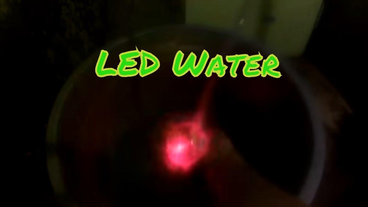 Cara Membuat Lampu Led Water Youtube