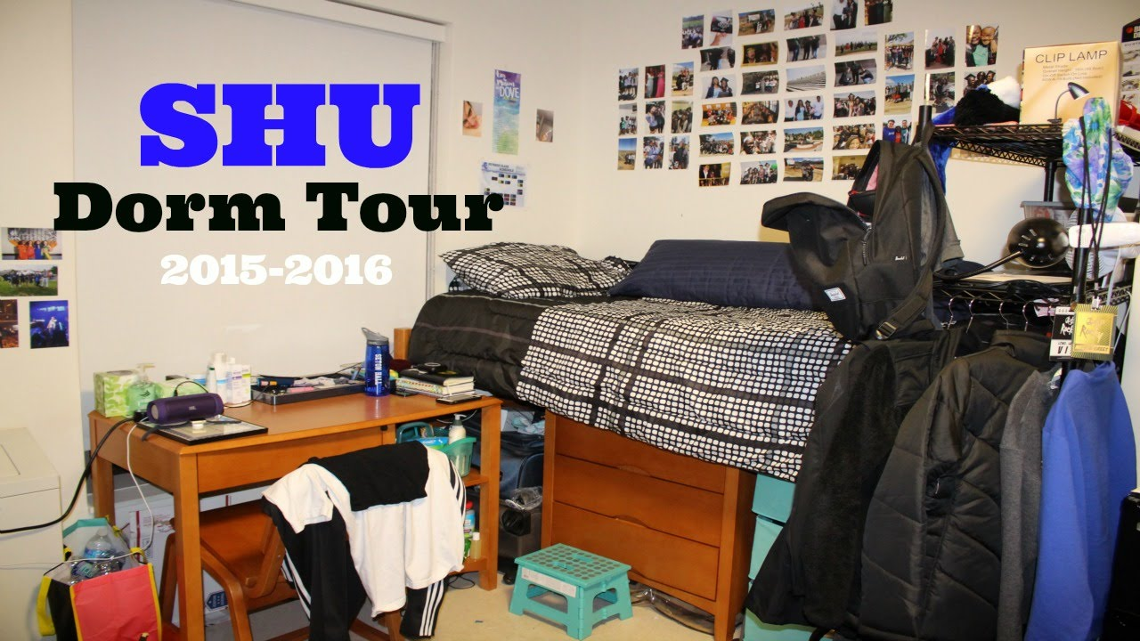 College Dorm Tour: Seton Hall University   YouTube
