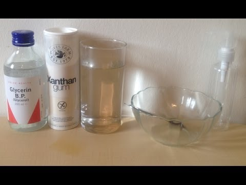 Home Made Water based Lube - YouTube
