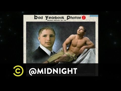 Burnie Burns, Gavin Free, Colton Dunn - Yearbook Oh Nos - @midnight with Chris Hardwick