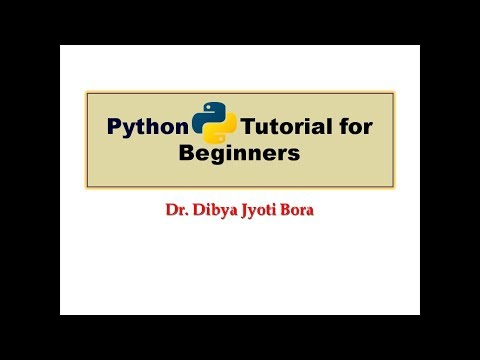 Python Tutorial for Beginners||Lecture#1 Introduction to Python thumbnail