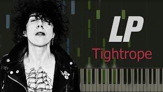LP - Tightrope НОТЫ & MIDI | KARAOKE | PIANO COVER