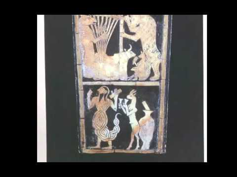 02   Ancient Near East   03   Sumerian art  Great Lyre from the