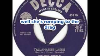 Tallahassee Lassie-Freddy Cannon-Lyrics
