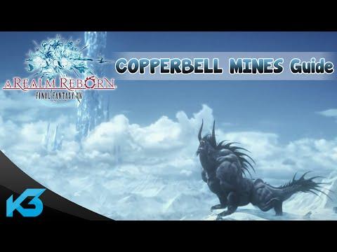 Final Fantasy XIV česky - Copperbell Mines guide