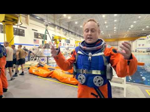 Orion Backstage: Astronaut Mike Fincke
