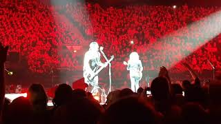 Metallica playing black Sabbath - Birmingham NEC 2017