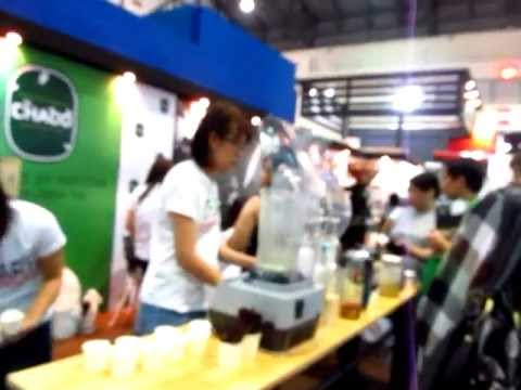 Coffee Bakery Ice Cream Expo at Impact Convention Center Sampling - Phil in Bangkok