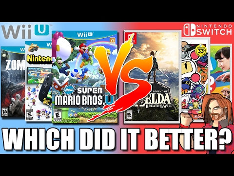 Does Nintendo Switch Have Better Launch Games Than The Wii U?