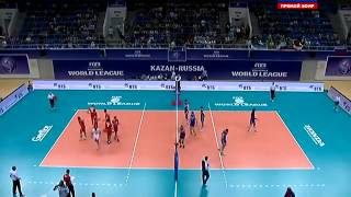 Волейбол  Россия - Иран 14.06.2015 Мировая лига Russia Iran FIVB Volleyball World League