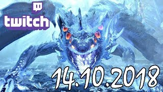 Stream vom 14.10.2018 – Monster Hunter World – Story Time
