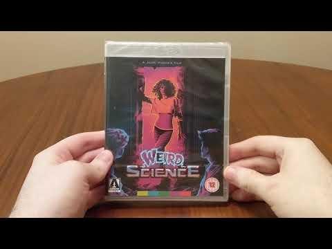 Download Weird Science (1985) Dir. John Hughes Arrow Video Blu-Ray Unboxing