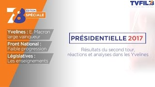 Edition spéciale – 2nd tour de l'élection présidentielle dans les Yvelines