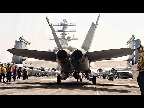 USS Nimitz • Flight Operations Aboard An Aircraft Supercarrier